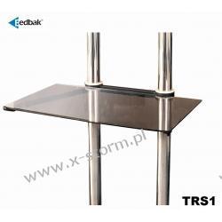 TRS1 Półka szklana z możliwością regulacji położenia