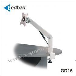 GD15 Uchwyt Biurkowy ze Sprężyną Gazową do Monitora LCD/TFT