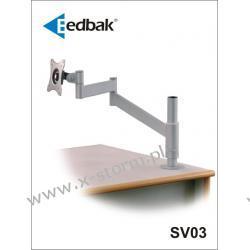 SV03 Uchwyt Biurkowy z Podwójnym Ramieniem Obrotowym do Monitora LCD/TFT