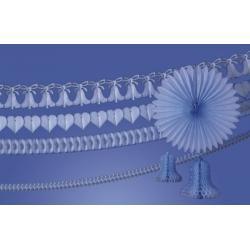 Girlanda dzwon 360cm. błękit