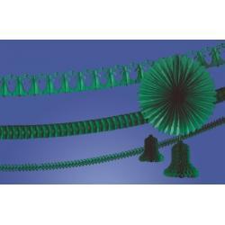 Girlanda dzwon 360cm. zielony