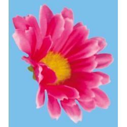 Kwiatki margerytki małe, różowe,białe,niebieskie op. po 25 szt.