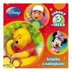 Disney Zabawy 3-latka książka z naklejkami UZ1 AMEET