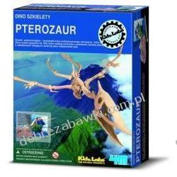 4M WYKOPALISKA DINO SZKIELETY DUŻY PTEROZAUR/PTERANODON dinozaur ZRÓB TO SAM