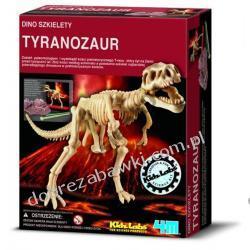 4M WYKOPALISKA DINO SZKIELETY TYRANOZAUR T-REX dinozaur ZRÓB TO SAM