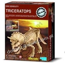 4M WYKOPALISKA DINO SZKIELETY TRICERATOPS dinozaur ZRÓB TO SAM