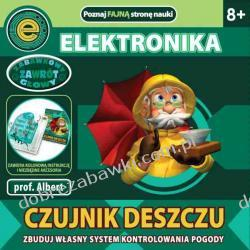 EIN-O SCIENCE PROFESOR ALBERT ELEKTRONIKA - CZUJNIK DESZCZU