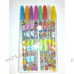 Długopisy kolorowe zapachowe kpl.8szt