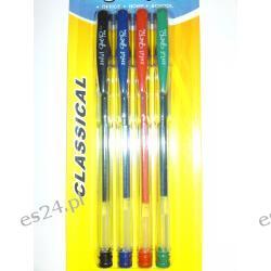 Długopisy żelowe kpl.4szt
