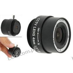Obiektyw 4mm do kamer CCTV F 1,2
