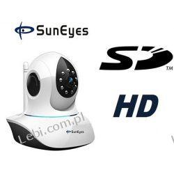 Megapikselowa  bezprzewodowa obrotowa kamera IP WIFI HD Suneyes SP-TM01W