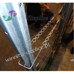 Uchwyt druta do słupka U60 Przemysł spożywczy