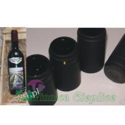 Termokapsle na butelki czarne
