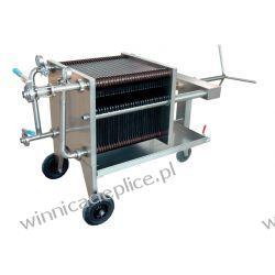Filtr winiarski 40x40 FC-10K Przemysł spożywczy