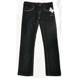 Jeansy czarne rurki DENIM 152cm STRECH 152cm