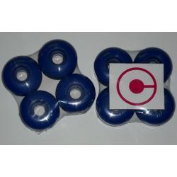 Kółka crach 52mm 100A niebieskie
