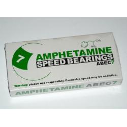 łożyska amphetamine abec-7 speed bearings komplet 8szt.
