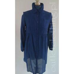 H&M granatowa koszula / tunika