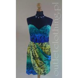 NEXT sukienka gorsetowa
