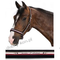 Eskadron kantar Double Pin Dark Red pony zima 2015