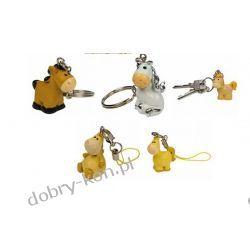 Bryloczki do kluczy małe koniki