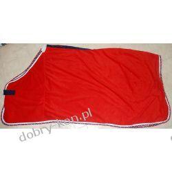 HKM derka polarowa Red Stripe, 145cm