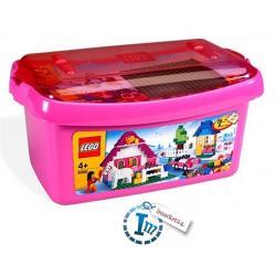LEGO 5560 DUŻE RÓŻOWE PUDEŁKO KLOCKÓW +GRATIS