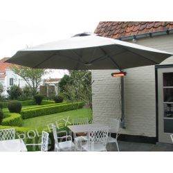 Parasol ogrodowy przyścienny Prostor PR6 średnica 350 cm made in Belgium Parasole