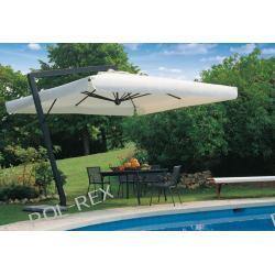 Parasol ogrodowy Leonardo Braccio 400cm x 400cm made in Italy