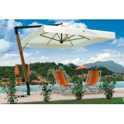 Parasol ogrodowy Palladio de Lux 350cm x 350cm made in Italy Parasole ogrodowe