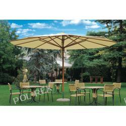Parasol ogrodowy Palladio Teleskopic Delux 400 cm x 400 cm made in Italy Parasole
