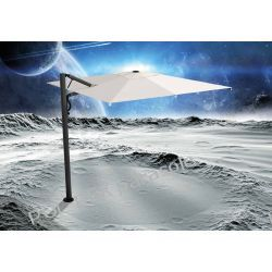 Parasol ogrodowy Astro Carbon 300cm x 300cm made in Italy Parasole ogrodowe
