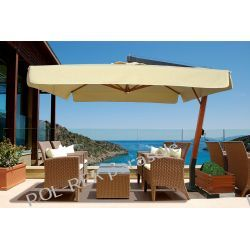 Parasol ogrodowy Vespucci Wood 300cm x 400cm made in Italy