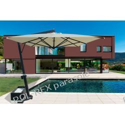 Parasol ogrodowy Giove Telescopic Alu 400cm x 400cm made in Italy Meble ogrodowe