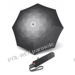 "Parasol markowy KNIRPS T.200 EASY HANDLING ""COMPACT & COMFORTABLE"" FOG. Design by NUNO Japan"