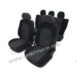Pokrowce samochodowe ATLANTIC Super L Air Bag czarne Ford Focus