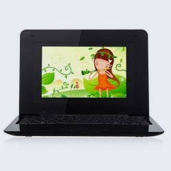 """Mini netbook / laptop 7"""" WIFI 2GB HD WIN płaski"""