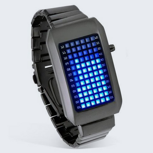 how to work a led watch