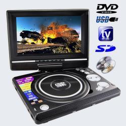 """Przenośne DVD samochodowe 7"""" Tuner TV Dvix Gry"""