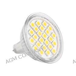 Żarówka LED GU5,3 24 LED SMD 5050 12 V biała ciepła