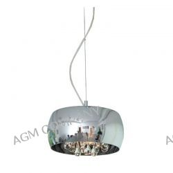 LAMPA WISZĄCA 28 CM CRYSTAL P0076-03E ZUMA LINE