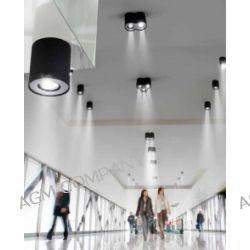 Lampa Plafon NEOS 1 BLACK / ALU AZzardo