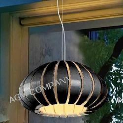 Lampa Wisząca ZUCCA BLACK LP1149-1 BK AZzardo