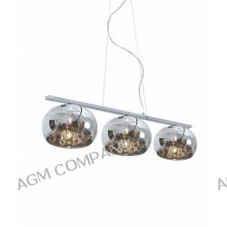 CRYSTAL LAMPA WISZĄCA P0076-03S ZUMALINE