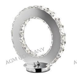Clover lampa stołowa chrom kryształ SEARCHLIGHT