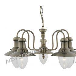 Fisherman 5335-5AB lampa wisząca 5 postarzany mosiądz