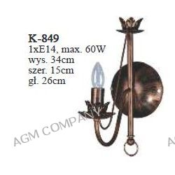 Kinkiet K-849 z serii Gotyk