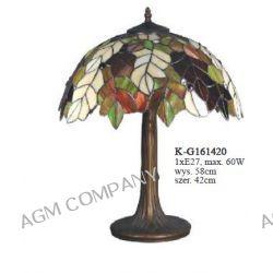 Lampa witrażowa K-G161420 z serii Tiffany