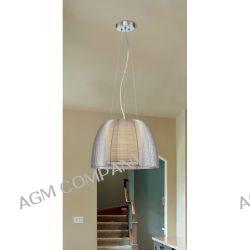 FILO lampa wisząca MD1452-1L SREBRNA