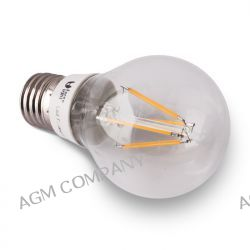 Żarówka LED E27 A 60 4 W 220-240 V biała ciepła